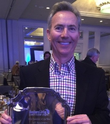 Jeff Sanderson named Southern Living 2016 Custom Builder of the Year
